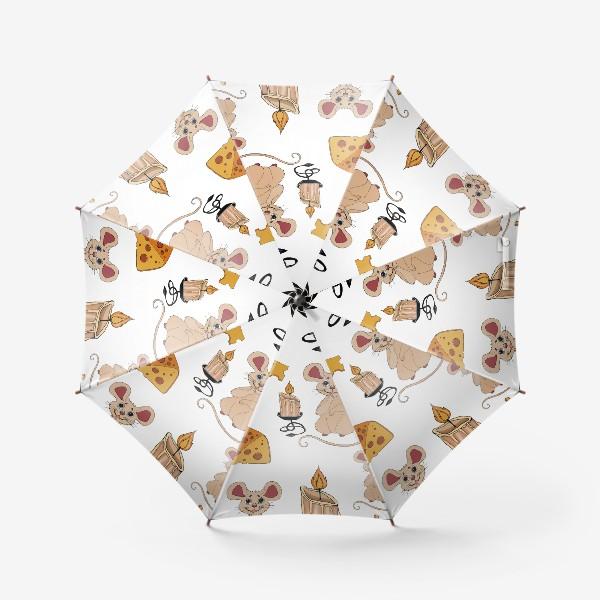 Зонт «паттерн мышки »