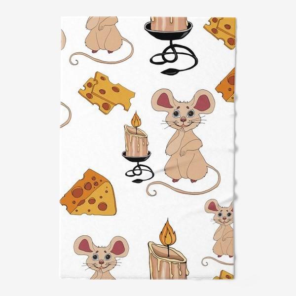 Полотенце «паттерн мышки »