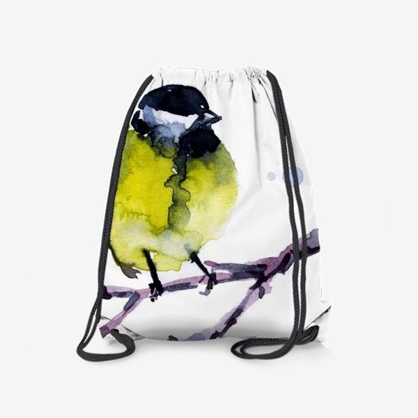 Рюкзак «Зима. Синичка.»