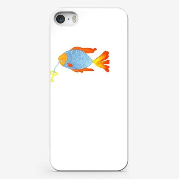Чехол iPhone «Рыбка с золотым ключиком»