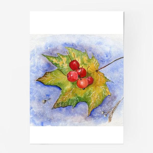 Постер «Дикие яблочки»