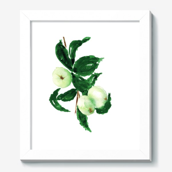 Картина «Молодые яблоки»