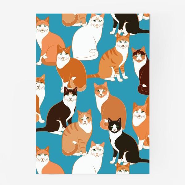 Постер «Рыжие Кошки»