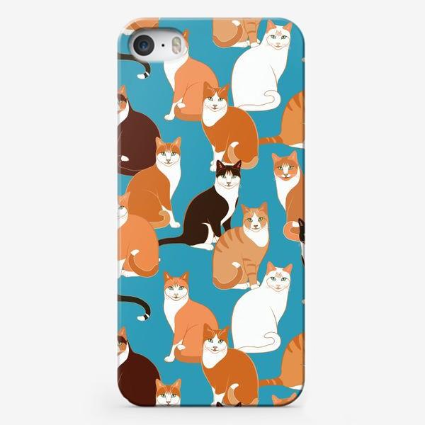 Чехол iPhone «Рыжие Кошки»