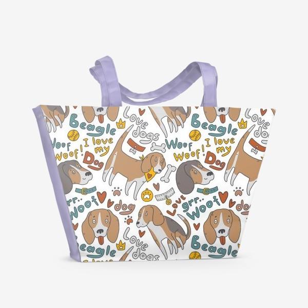 Пляжная сумка «Бигль»