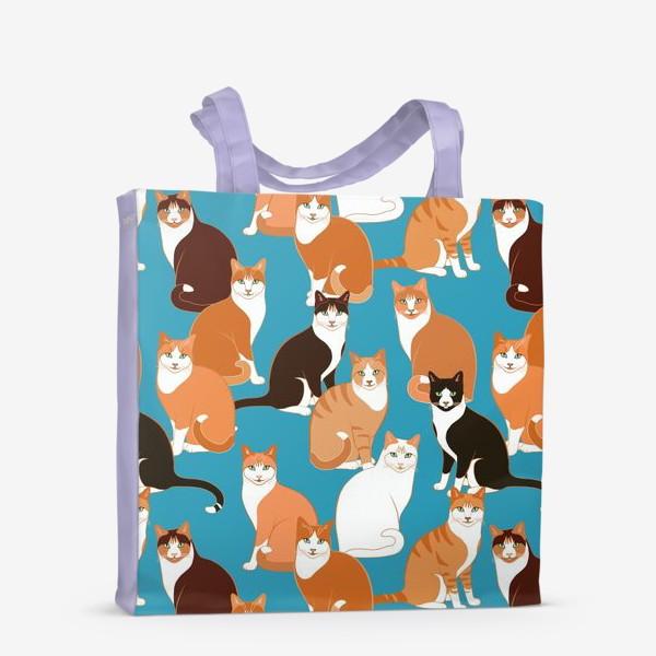 Сумка-шоппер «Рыжие Кошки»