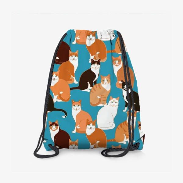 Рюкзак «Рыжие Кошки»