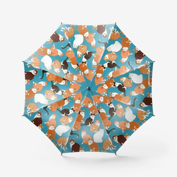 Зонт «Рыжие Кошки»