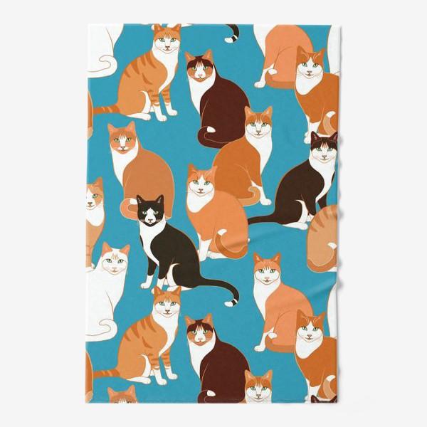 Полотенце «Рыжие Кошки»