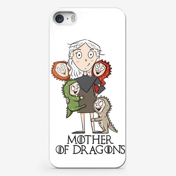 Чехол iPhone «Мать 4 драконов»