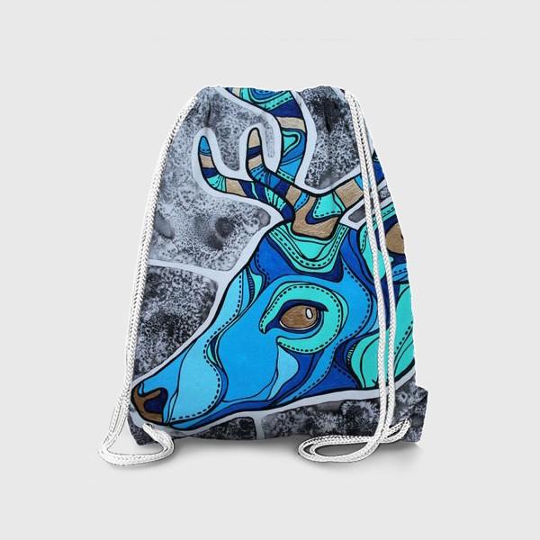 Рюкзак «Голубой олень»