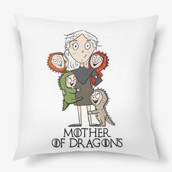 Подушка «Мать 4 драконов»