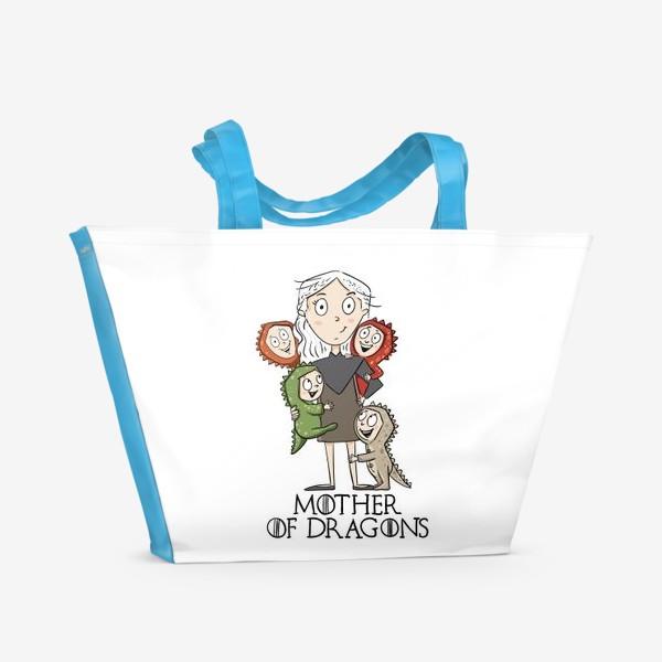 Пляжная сумка «Мать 4 драконов»