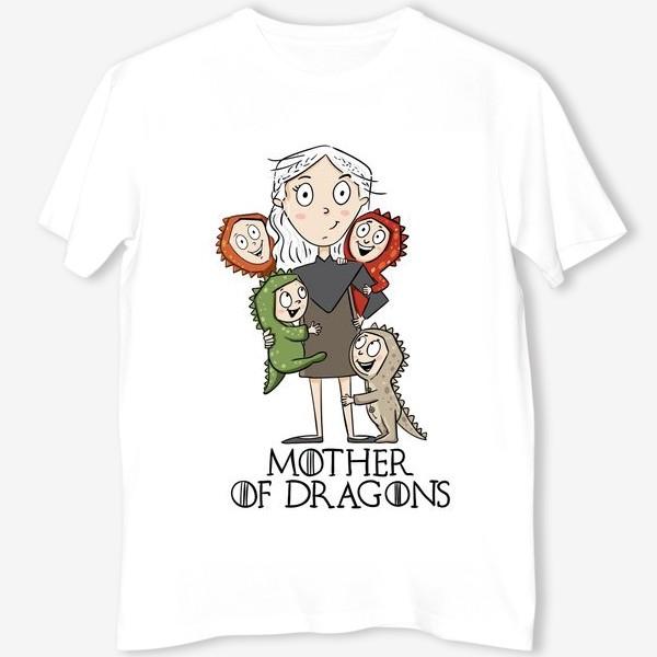 Футболка «Мать 4 драконов»