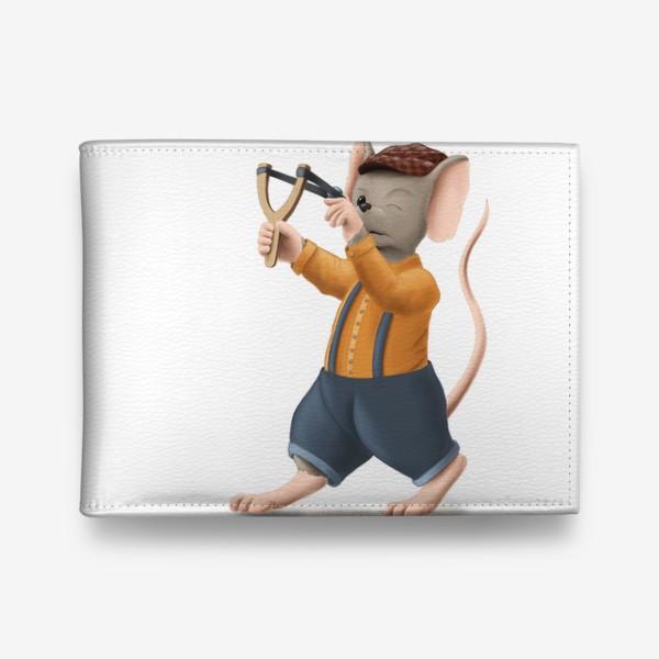 Кошелек «Мышонок с рогаткой»