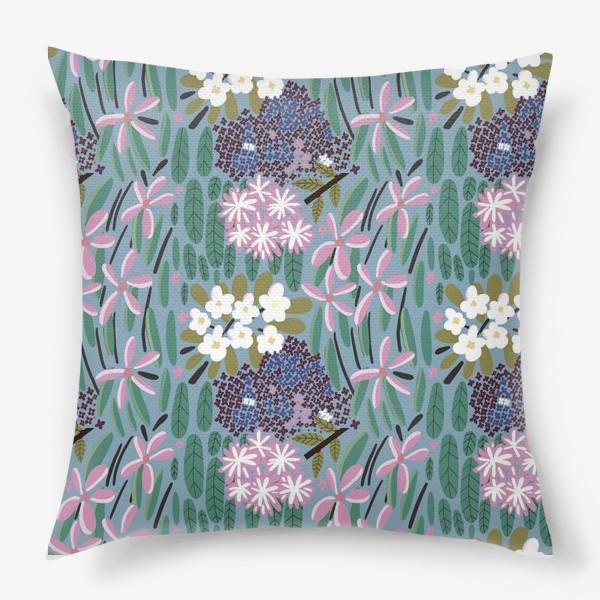 Подушка «Ботанический сад»