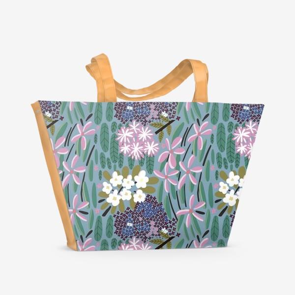 Пляжная сумка «Ботанический сад»