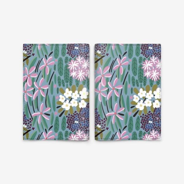 Обложка для паспорта «Ботанический сад»