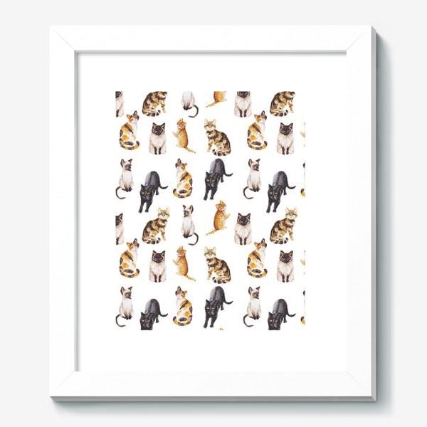 Картина «Акварельные котики»