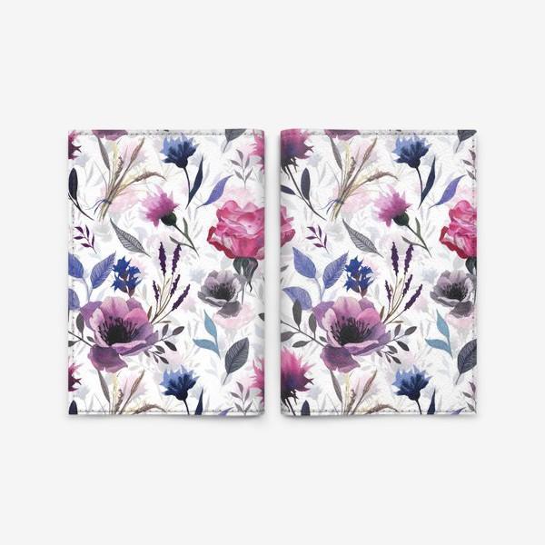 Обложка для паспорта «Spring Garden»
