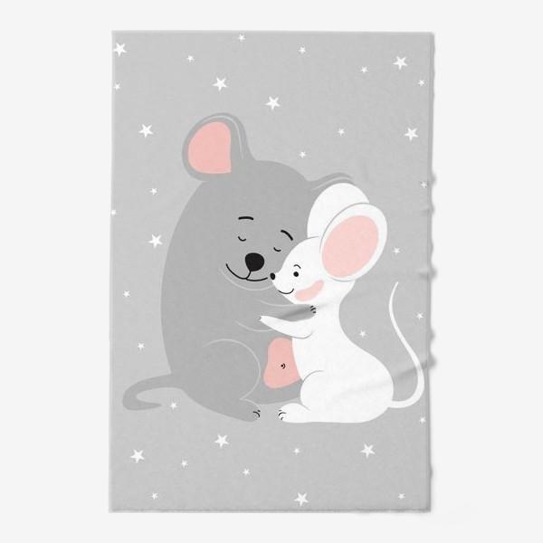 Полотенце «Влюбленные мыши (серия)»
