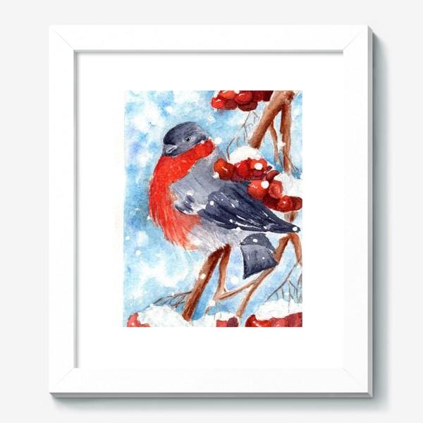Картина «Снегирек»