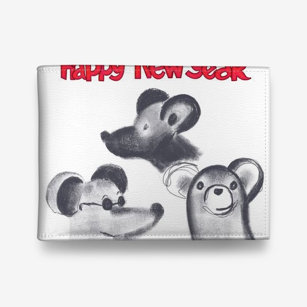 Кошелек «Мышкин новый год»