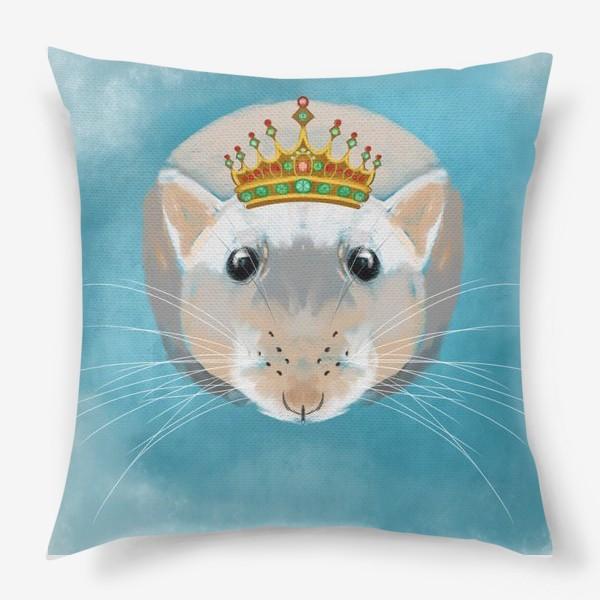 Подушка «мышка в короне»