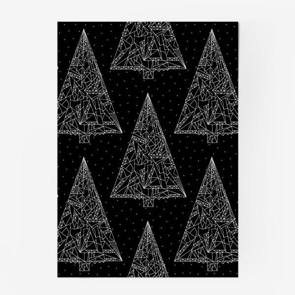 Постер «Елки черные»