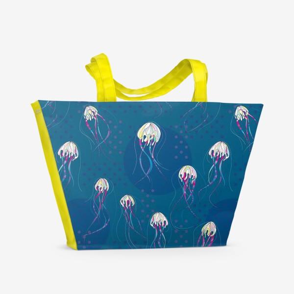 Пляжная сумка «Медузы»