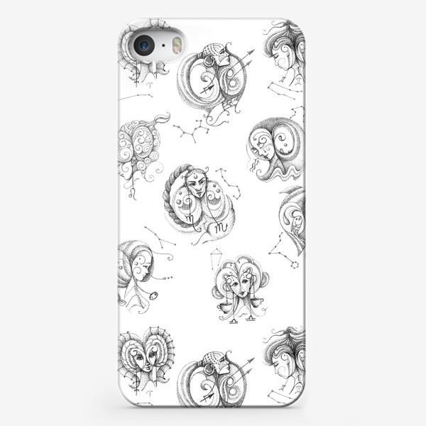 Чехол iPhone «Графический зодиакальный принт»