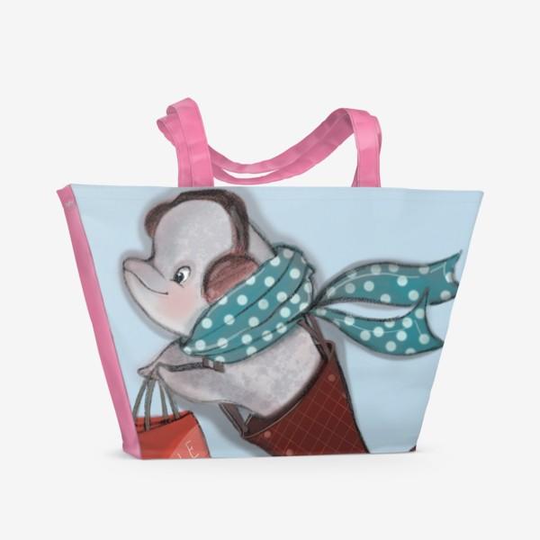 Пляжная сумка «Распродажи - это весело»