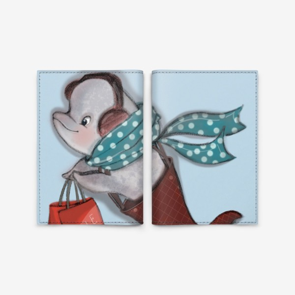 Обложка для паспорта «Распродажи - это весело»