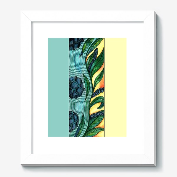 Картина «Чёрный перец Ар нуво»