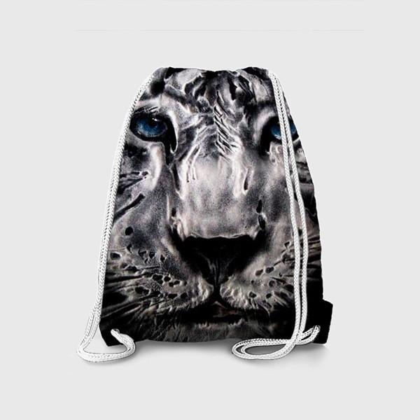Рюкзак «тигр с голубыми глазами»