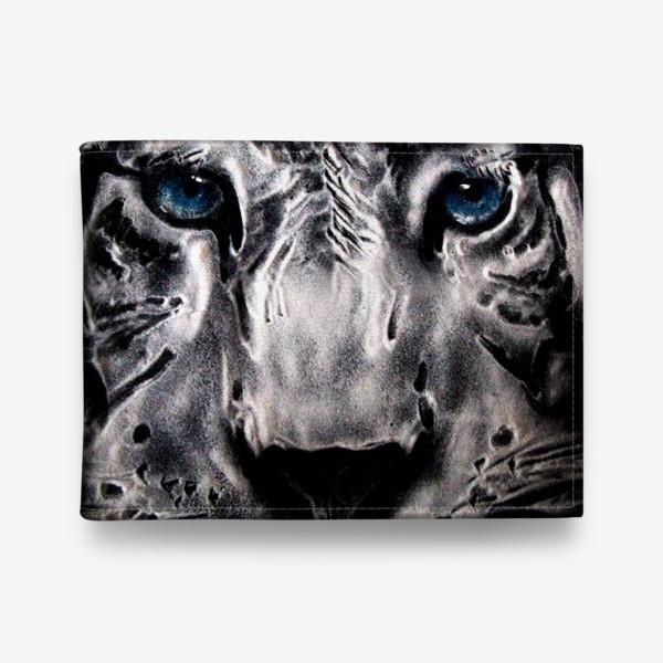 Кошелек «тигр с голубыми глазами»