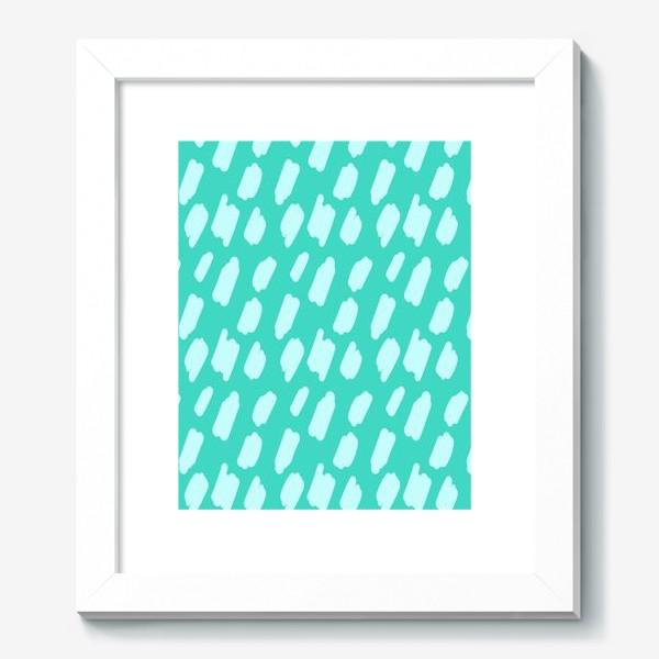 Картина «мятний абстрактный фон из пятен краски»