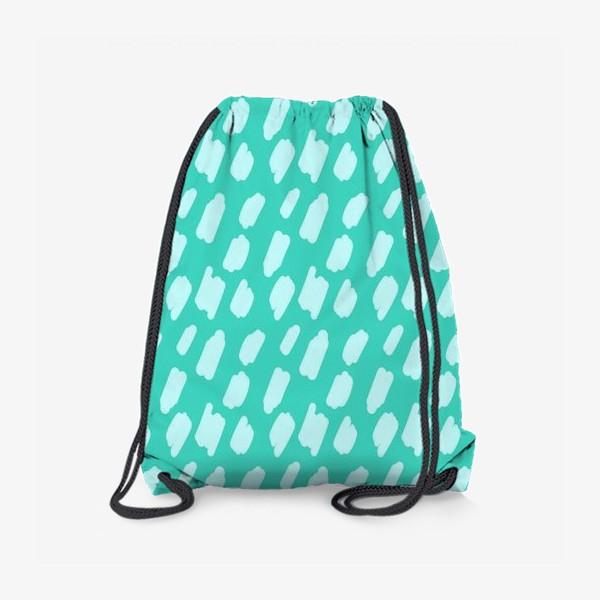 Рюкзак «мятний абстрактный фон из пятен краски»