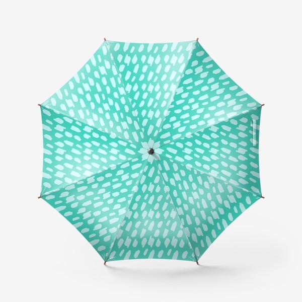 Зонт «мятний абстрактный фон из пятен краски»