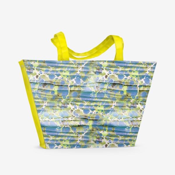 Пляжная сумка «Эбру фантазия»