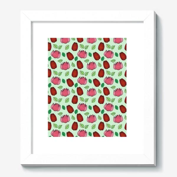 Картина «Тюльпаны и лотосы»
