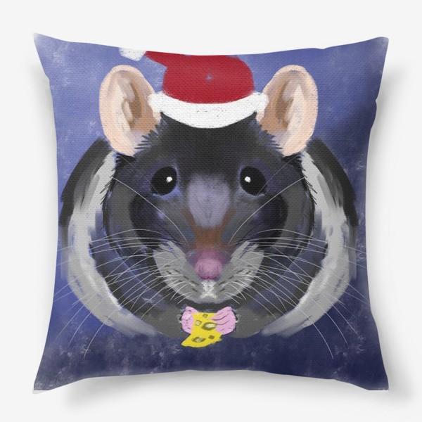 Подушка «новогодняя крыса»