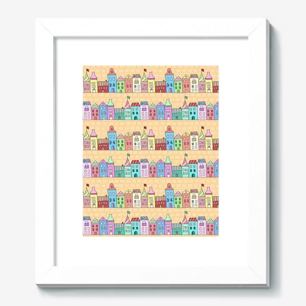 Картина «Городские улочки»