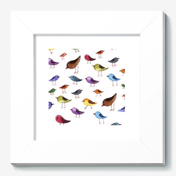 Картина «Паттерн Птички»