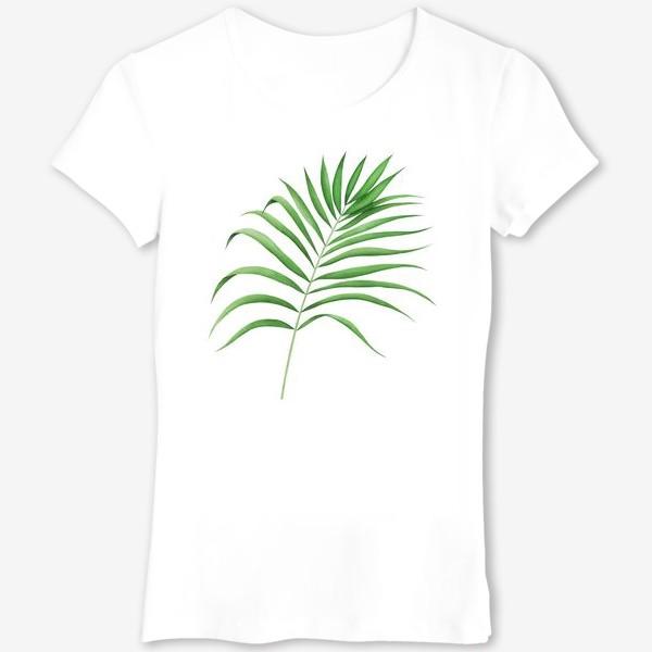 Футболка «Лист пальмы»
