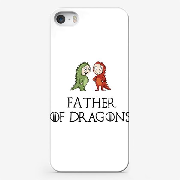 Чехол iPhone «Father of 2 dragons»