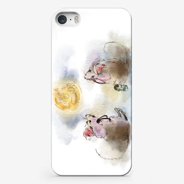 Чехол iPhone «кусочек сыра»