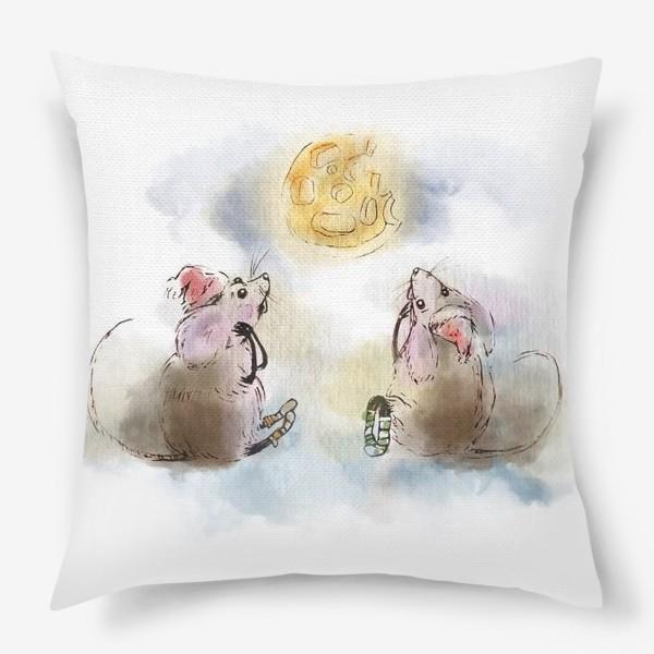 Подушка «кусочек сыра»