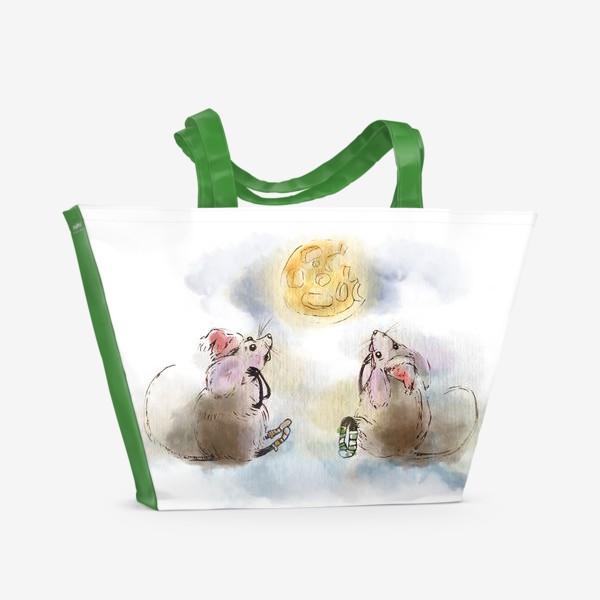 Пляжная сумка «кусочек сыра»