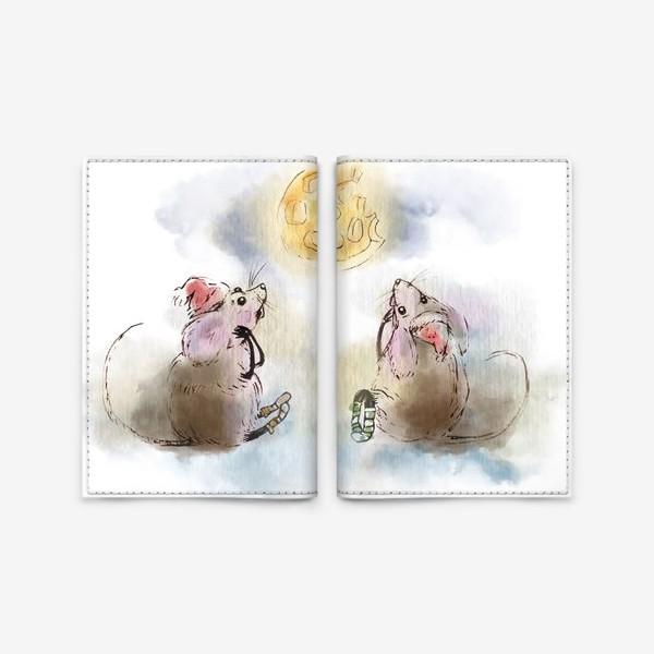 Обложка для паспорта «кусочек сыра»